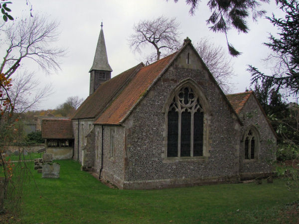 Holy Trinity And St Andrew, Ashe