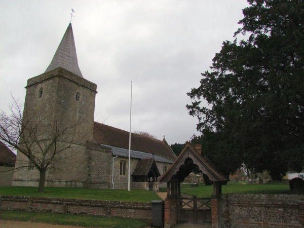St Peter's Church, Goodworth Clatford