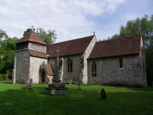 St Swithin's Church, Headbourne Worthy