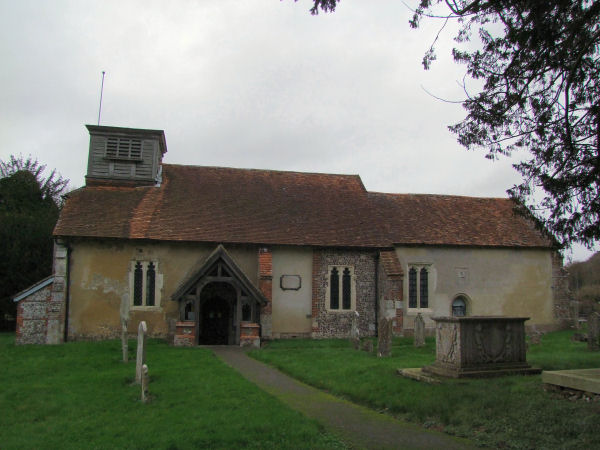St Nicholas's Church, Leckford