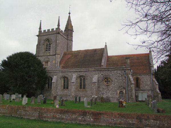 St Leonard's Church, Oakley