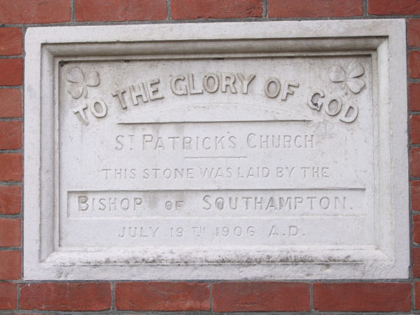 St Patrick, Eastfield Road, Eastney's Church, Portsmouth